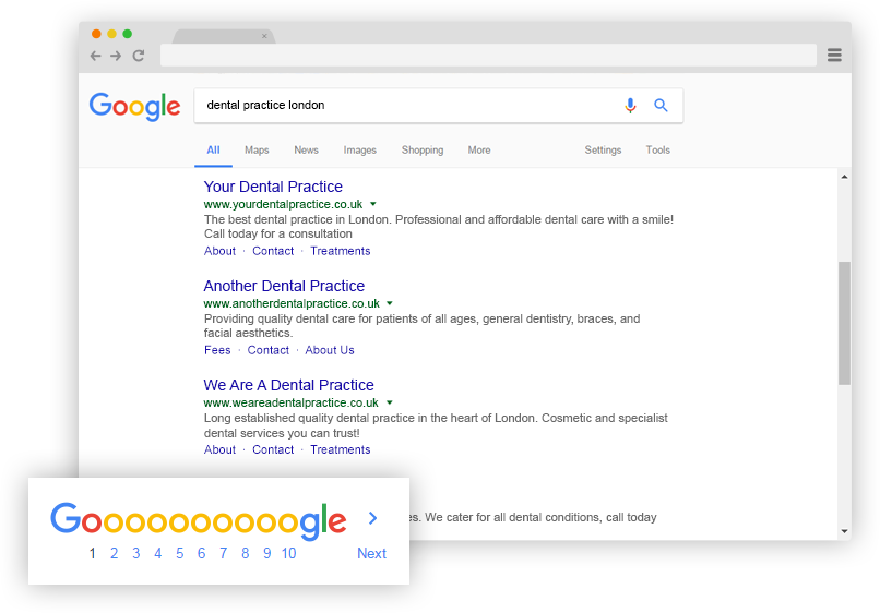 SEO For Dental Practices